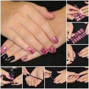 12 Фотографій дизайну нігтів з наклейками