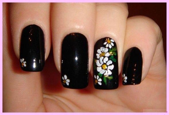 Квіткова симфонія або як намалювати квіти на нігтях