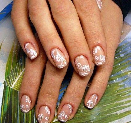 красивий малюнок на нігтях