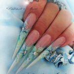 Дизайн нігтів гострої форми 2016