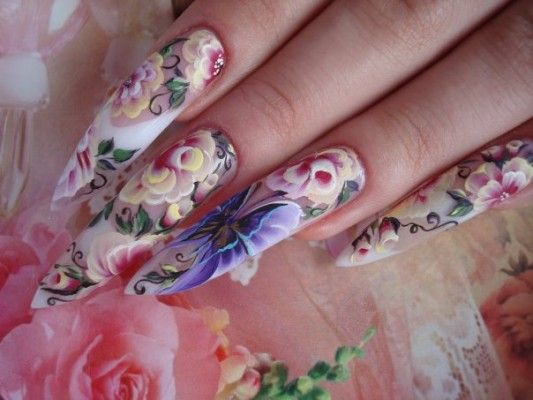 китайський розпис нігтів