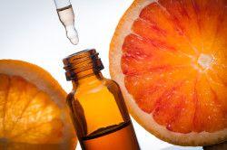 Грейпфрутове ефірне масло для нігтів
