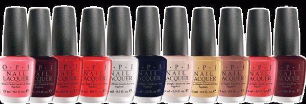 Колекція лаків для нігтів opi