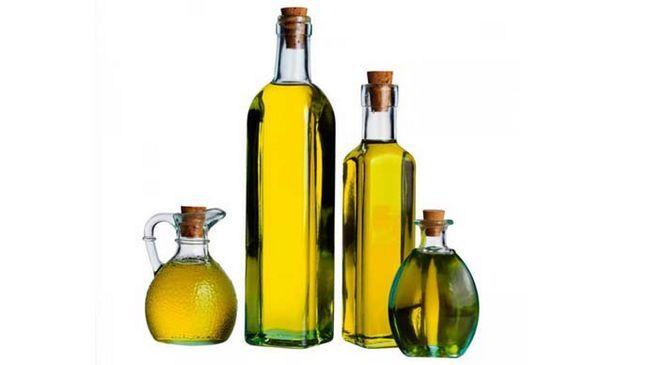 Косметичні масла для волосся: список