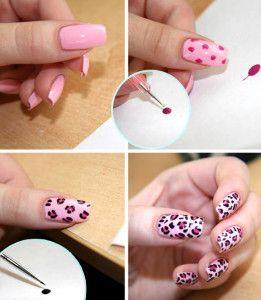 Леопардовий манікюр (дизайн нігтів)