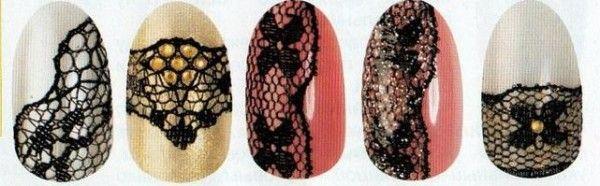 мереживні нігті