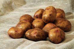 Картопля для приготування маски для нігтів