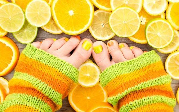фруктова кислота для педикюру