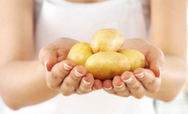картопляна маска для рук