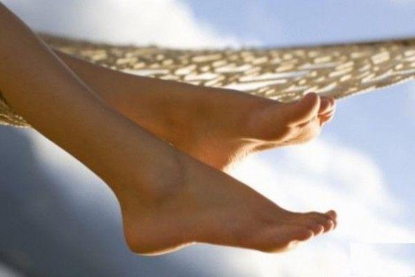 ніжки після педикюру