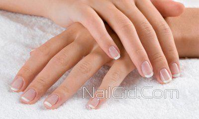 відполіровані нігті