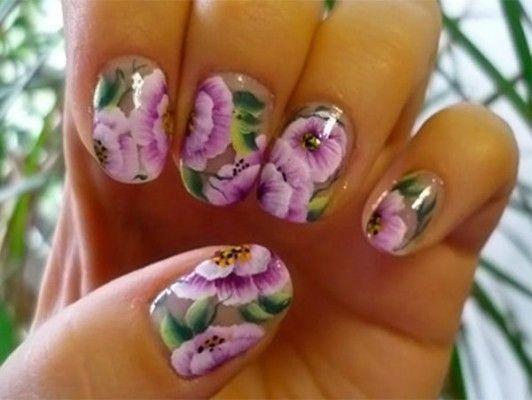 квітковий манікюр