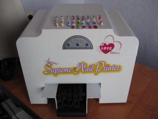 Принтер для друку на нігтях - відмінний манікюр швидко і просто