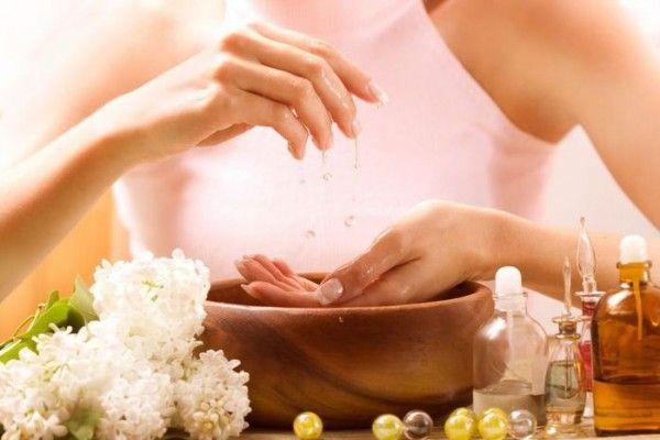 содова ванночка для нігтів