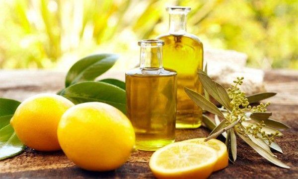 лимонний догляд за нігтями
