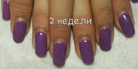 Скільки може протриматися гель-лак на нігтях?