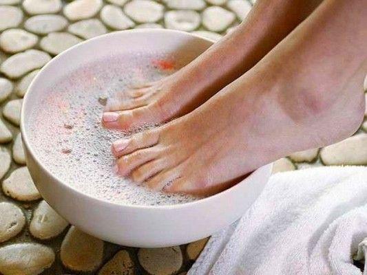 Касторові ванночки для ніг