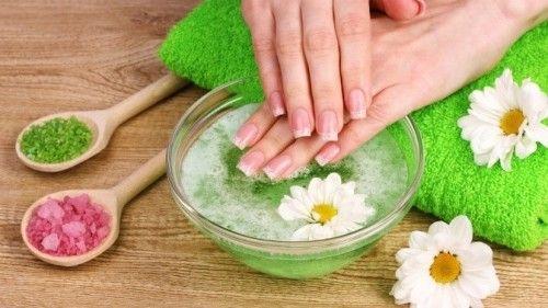Ванночки для нігтів з морською сіллю